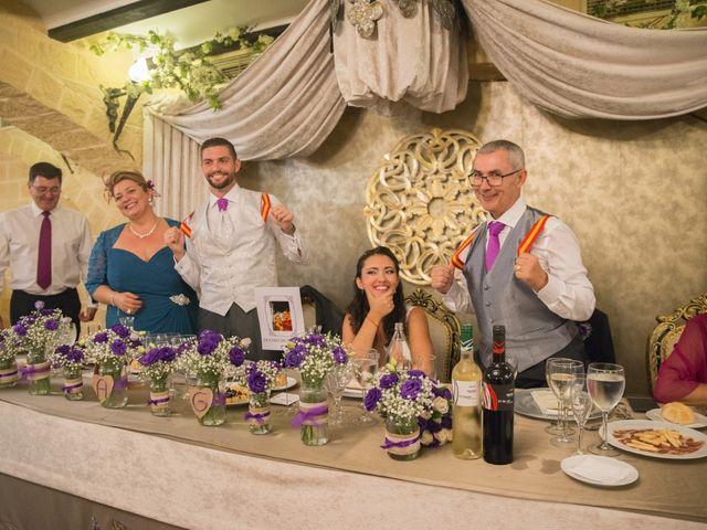 La boda de Alejandro y Gema en Alhaurin El Grande, Málaga 130