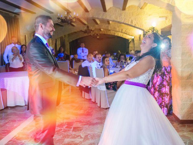 La boda de Alejandro y Gema en Alhaurin El Grande, Málaga 140