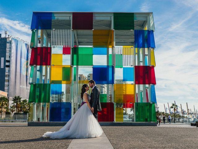 La boda de Alejandro y Gema en Alhaurin El Grande, Málaga 181