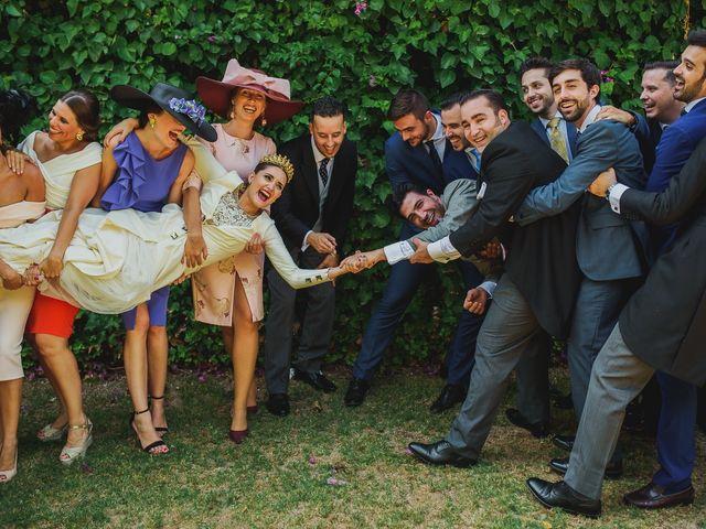 La boda de Antonio y Inma en Los Palacios Y Villafranca, Sevilla 15