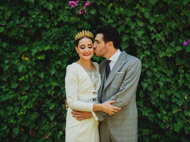 La boda de Antonio y Inma en Los Palacios Y Villafranca, Sevilla 17