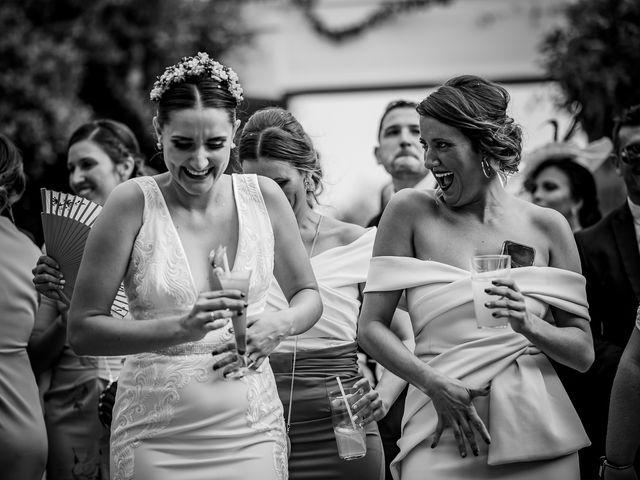 La boda de Antonio y Inma en Los Palacios Y Villafranca, Sevilla 36