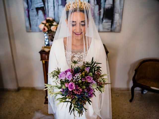 La boda de Antonio y Inma en Los Palacios Y Villafranca, Sevilla 38