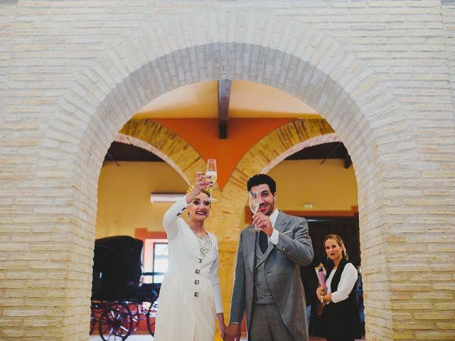 La boda de Antonio y Inma en Los Palacios Y Villafranca, Sevilla 40