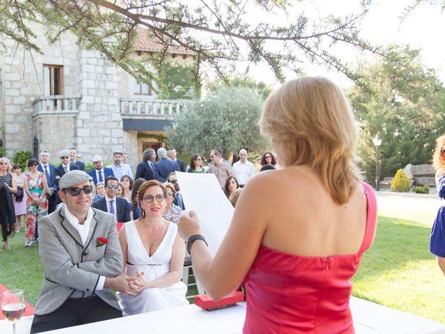 La boda de Mariano y Madly en Torrelodones, Madrid 17