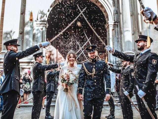 La boda de Alfredo y Isabel en Granada, Granada 1