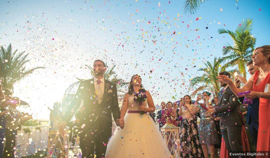 La boda de Alejandro y Gema en Alhaurin El Grande, Málaga