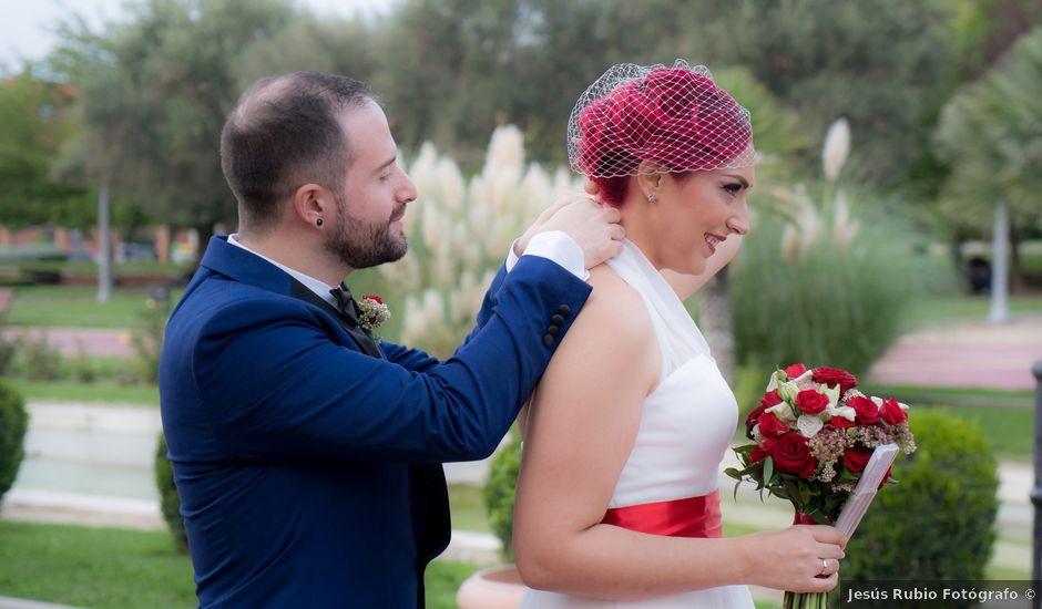 La boda de Eduardo y Sandra en Pinto, Madrid