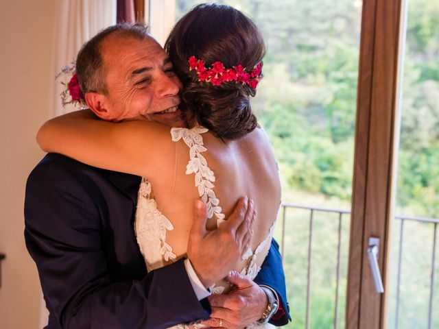 La boda de Fran y Jannette en El Pont De Vilumara I Rocafort, Barcelona 22
