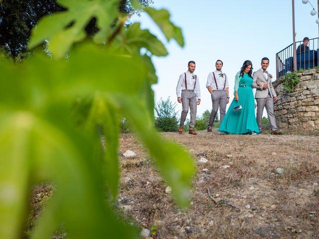 La boda de Fran y Jannette en El Pont De Vilumara I Rocafort, Barcelona 23