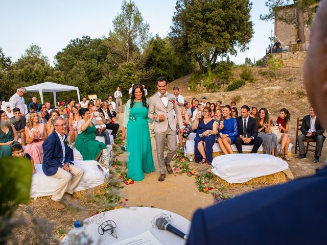 La boda de Fran y Jannette en El Pont De Vilumara I Rocafort, Barcelona 25