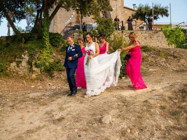 La boda de Fran y Jannette en El Pont De Vilumara I Rocafort, Barcelona 31