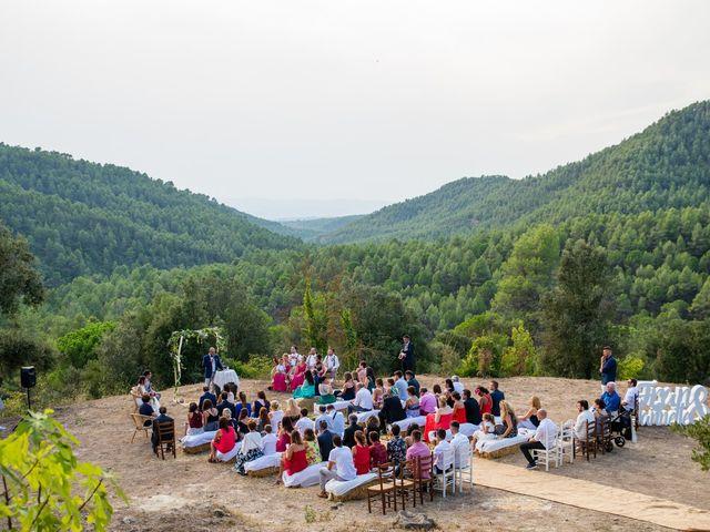 La boda de Fran y Jannette en El Pont De Vilumara I Rocafort, Barcelona 36