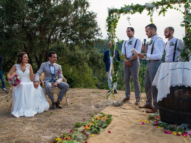 La boda de Fran y Jannette en El Pont De Vilumara I Rocafort, Barcelona 39