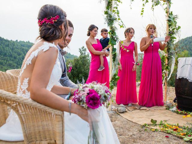 La boda de Fran y Jannette en El Pont De Vilumara I Rocafort, Barcelona 41