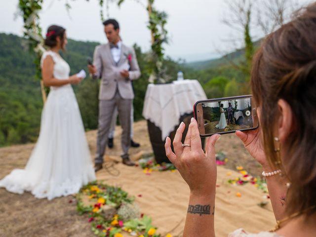 La boda de Fran y Jannette en El Pont De Vilumara I Rocafort, Barcelona 43
