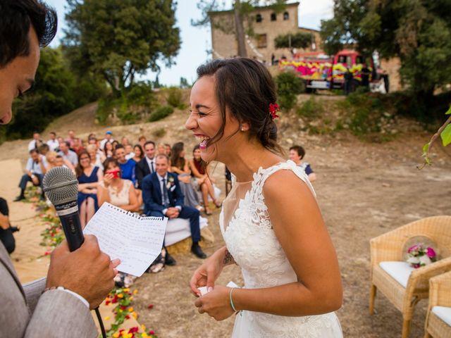 La boda de Fran y Jannette en El Pont De Vilumara I Rocafort, Barcelona 46
