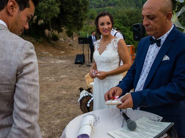 La boda de Fran y Jannette en El Pont De Vilumara I Rocafort, Barcelona 47