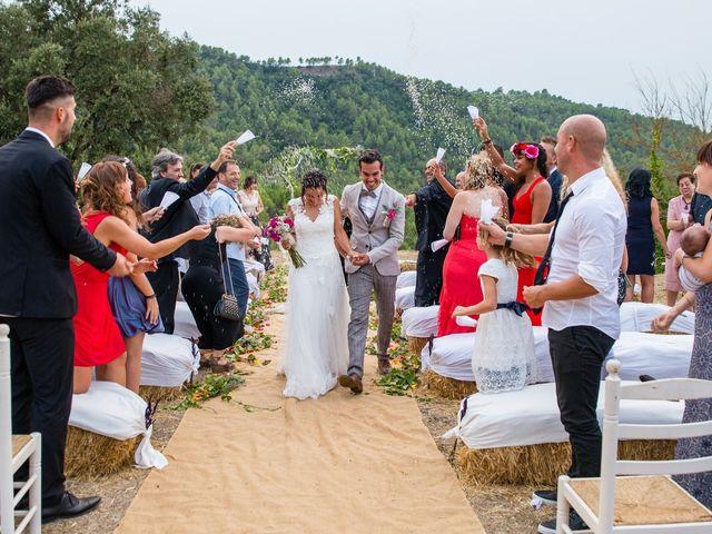 La boda de Fran y Jannette en El Pont De Vilumara I Rocafort, Barcelona 51
