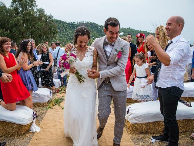 La boda de Fran y Jannette en El Pont De Vilumara I Rocafort, Barcelona 52