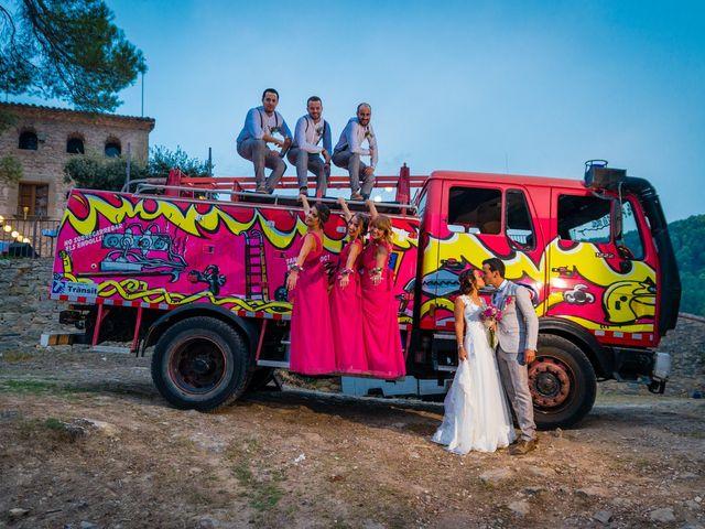 La boda de Fran y Jannette en El Pont De Vilumara I Rocafort, Barcelona 55