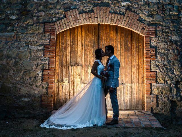 La boda de Fran y Jannette en El Pont De Vilumara I Rocafort, Barcelona 56