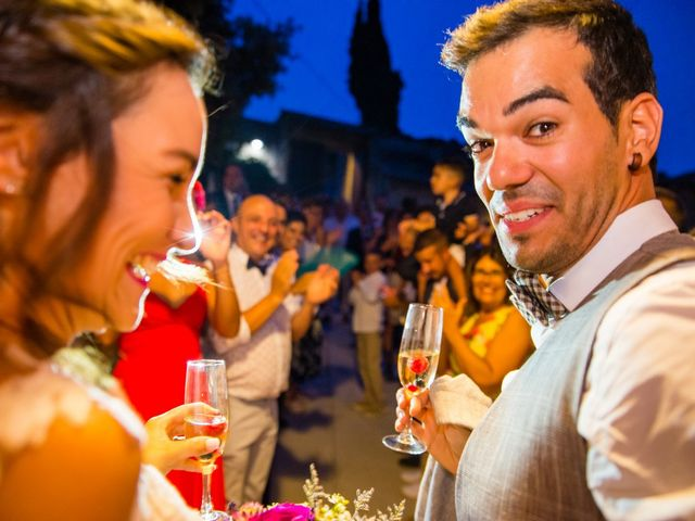La boda de Fran y Jannette en El Pont De Vilumara I Rocafort, Barcelona 60