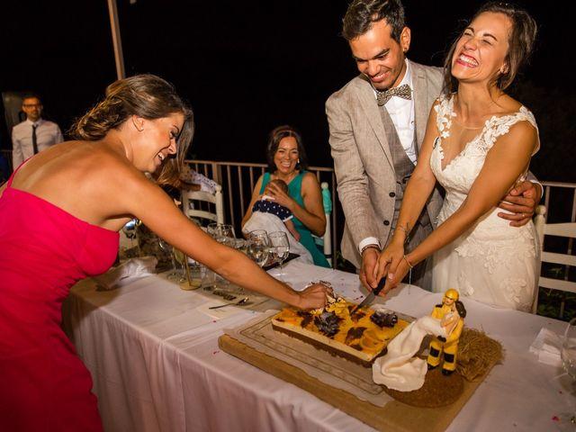 La boda de Fran y Jannette en El Pont De Vilumara I Rocafort, Barcelona 1