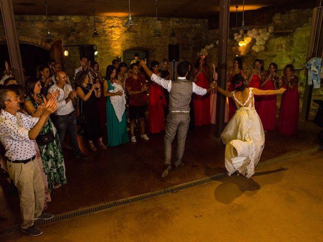 La boda de Fran y Jannette en El Pont De Vilumara I Rocafort, Barcelona 77