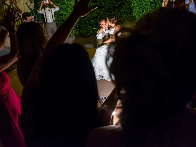 La boda de Fran y Jannette en El Pont De Vilumara I Rocafort, Barcelona 83