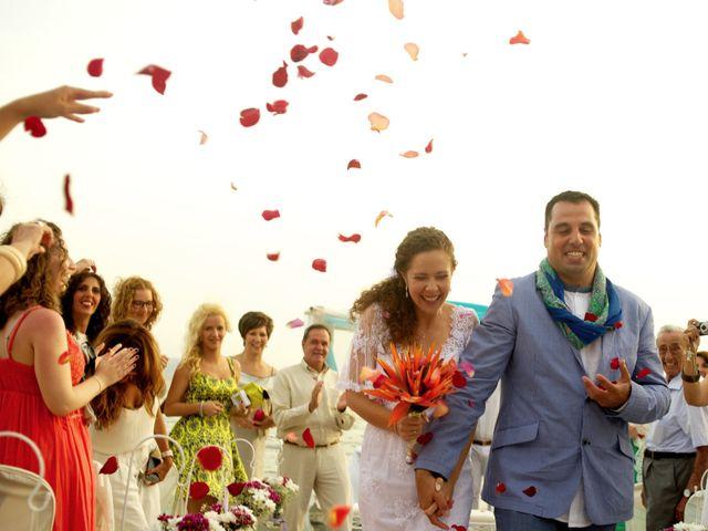 La boda de Jose Manuel y Esther en La Manga Del Mar Menor, Murcia 1