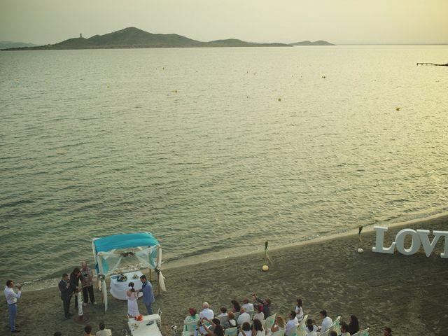 La boda de Jose Manuel y Esther en La Manga Del Mar Menor, Murcia 33