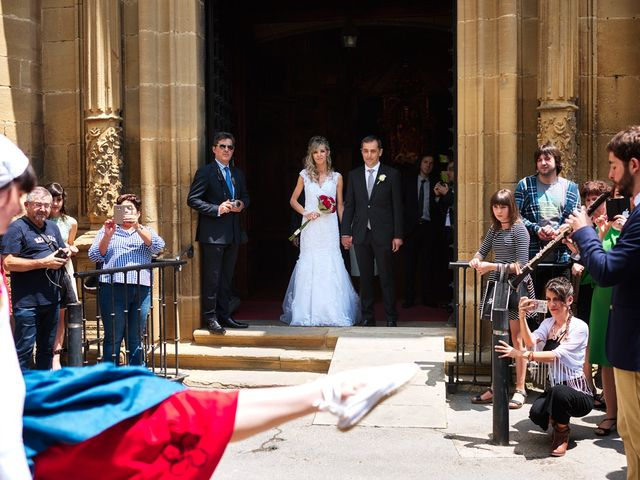 La boda de Imanol y Maite en Laguardia, Álava 20