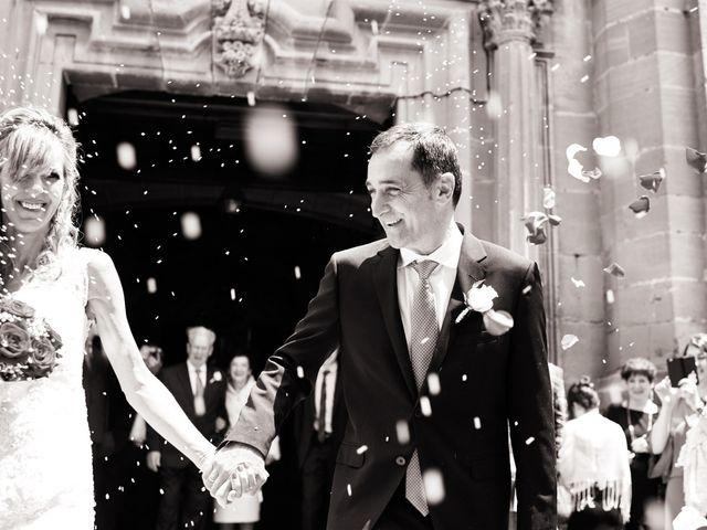La boda de Imanol y Maite en Laguardia, Álava 21