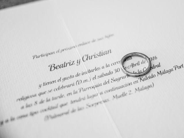 La boda de Christian y Bea en Benalmadena Costa, Málaga 5