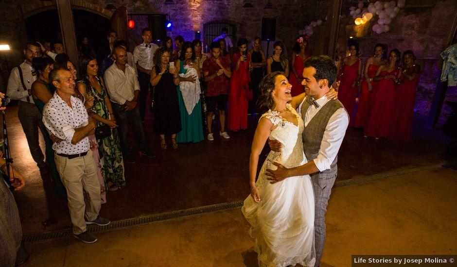 La boda de Fran y Jannette en El Pont De Vilumara I Rocafort, Barcelona