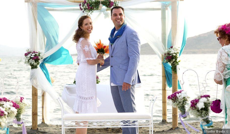 La boda de Jose Manuel y Esther en La Manga Del Mar Menor, Murcia