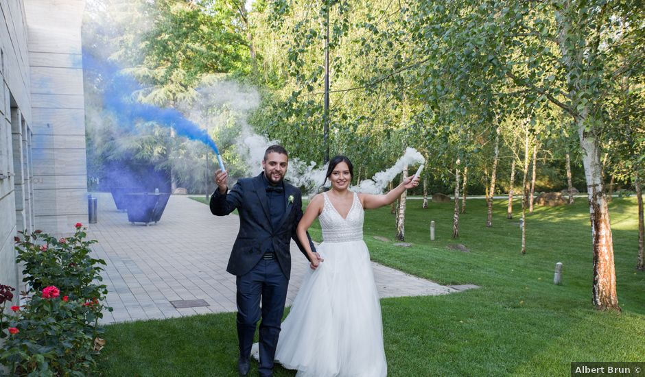 La boda de Eric y Brenda en Santa Coloma De Farners, Girona
