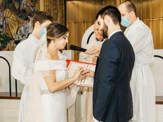 La boda de Isaac y Paula