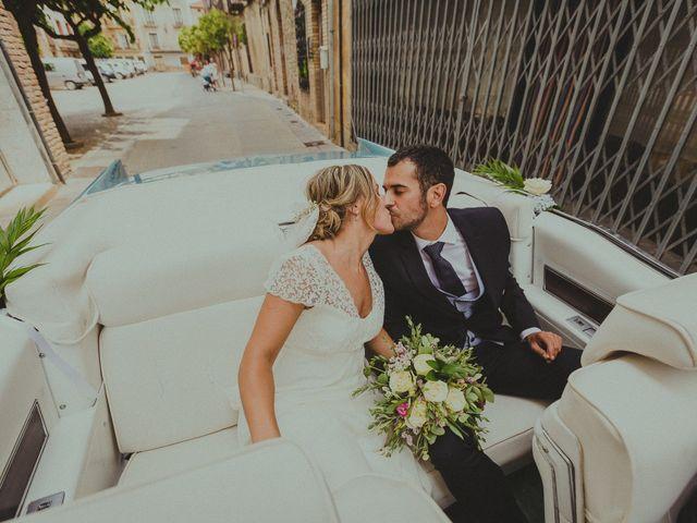 La boda de Ivan y Ana en Cintruenigo, Navarra 1