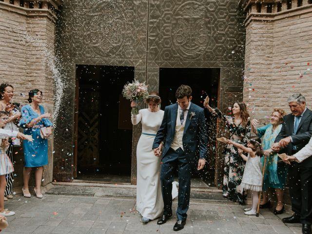 La boda de Sergio y Marta en Zaragoza, Zaragoza 37