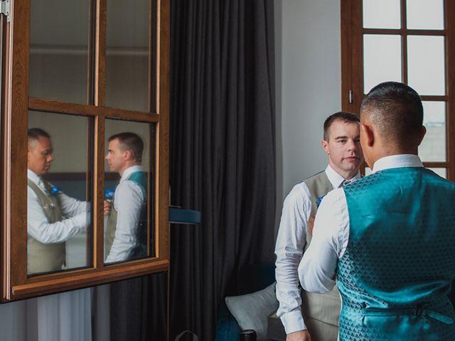 La boda de Andy y Roy