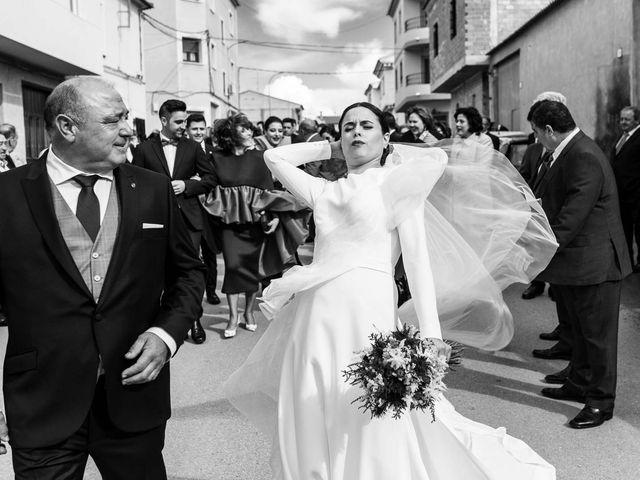 La boda de Sergio y Maria en Quintanar Del Rey, Cuenca 18