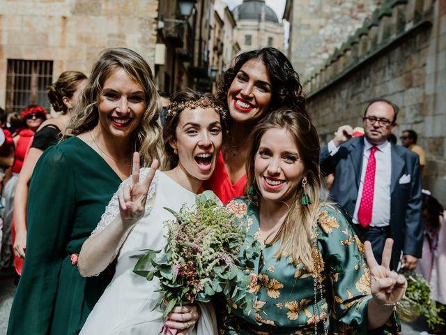 La boda de Isaac y Vanesa en Alba De Tormes, Salamanca 111