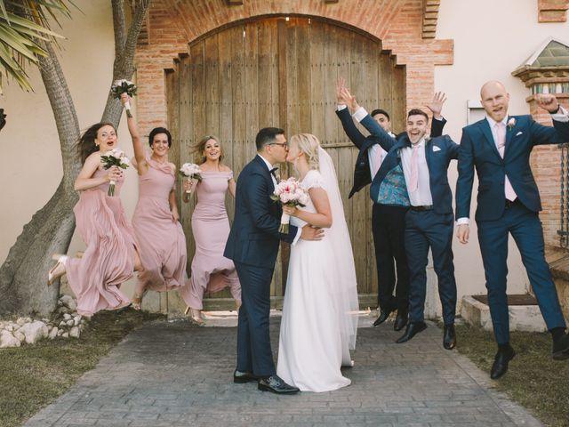 La boda de Modesta y Imber
