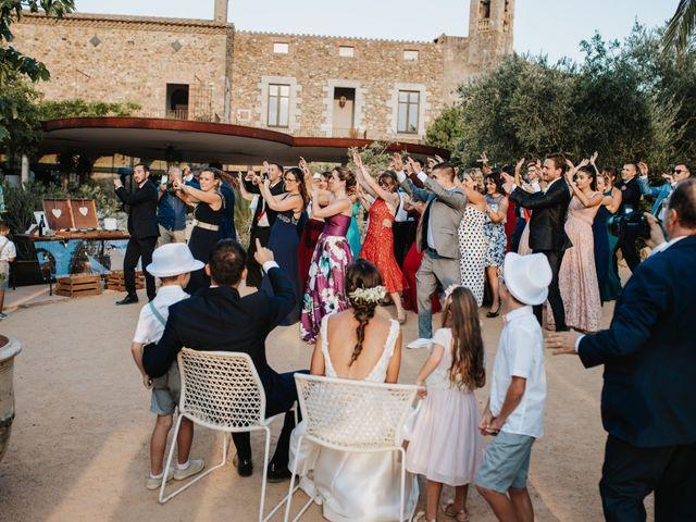 La boda de Marc y Vanesa en La Bisbal d'Empordà, Girona 127