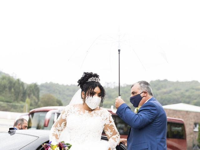 La boda de Stefania y Adrian en La Belga (Viella-siero), Asturias 11