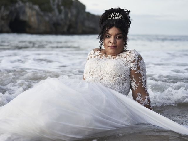 La boda de Stefania y Adrian en La Belga (Viella-siero), Asturias 27