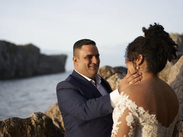 La boda de Stefania y Adrian en La Belga (Viella-siero), Asturias 28