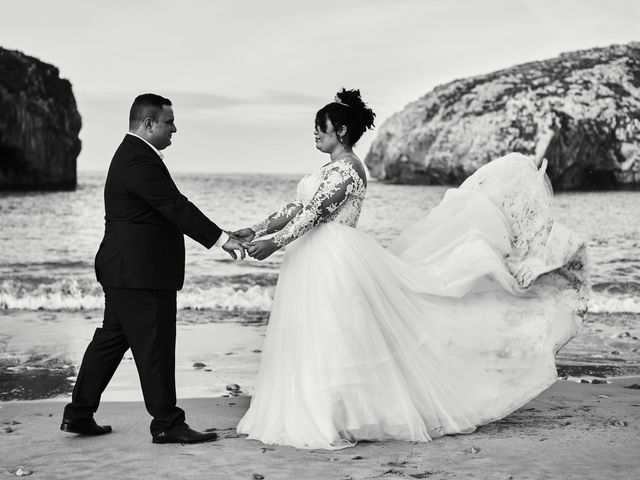 La boda de Adrian y Stefania